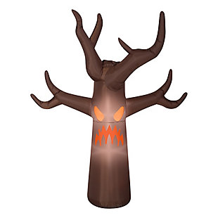 7 ft. Inflatable Haunted Tree with Fog Effects and LED Lights, , large