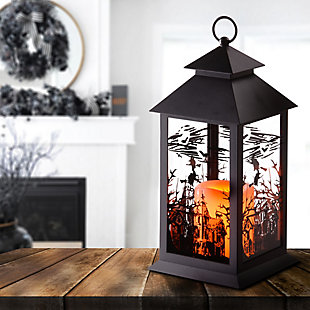 """12"""" LED Witch Lantern, , rollover"""