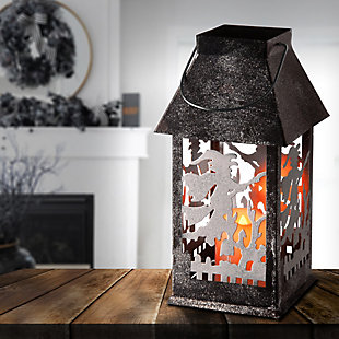 National Tree Company Witch Lantern with LED Lights, , rollover