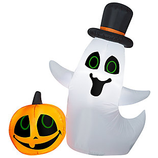 National Tree Company 4 ft. Ghost and Pumpkin, , large