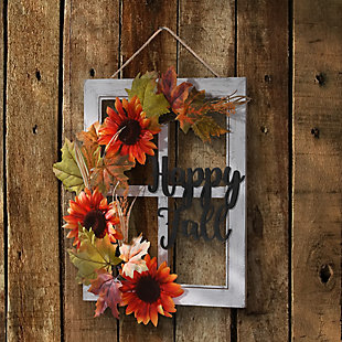 """16"""" Happy Fall Wall Sign, , rollover"""