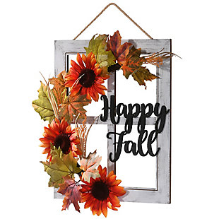 """16"""" Happy Fall Wall Sign, , large"""