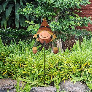 """26"""" Scarecrow Gal Garden Stake, , rollover"""