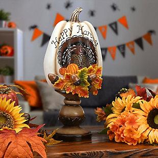 """13"""" Harvest Pumpkin, , rollover"""
