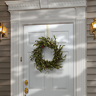 "22"" Autumn Grass Wreath, , rollover"