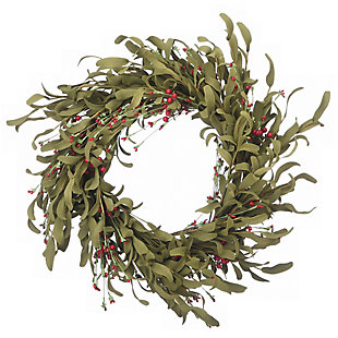"22"" Autumn Grass Wreath, , large"