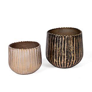 Gild Design House Metal Vases (Set of 2), , large