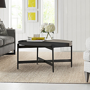 Armen Living Dua Round Coffee Table, , rollover