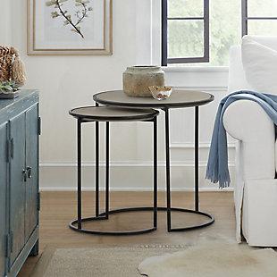Armen Living Rina Nesting End Table (Set of 2), , rollover