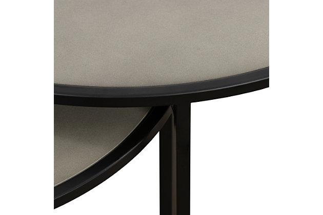 Armen Living Rina Nesting End Table (Set of 2), , large