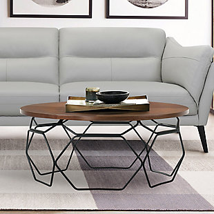 Armen Living Cosmo Coffee Table, , rollover
