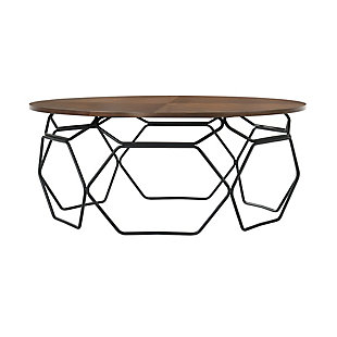 Armen Living Cosmo Coffee Table, , large