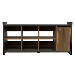 TuHome Entryway 6-Pair Shoe Storage Cabinet, , large