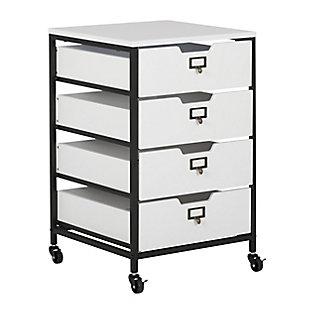Sew Ready 4-Drawer Mobile Storage Organizer Cart, , large