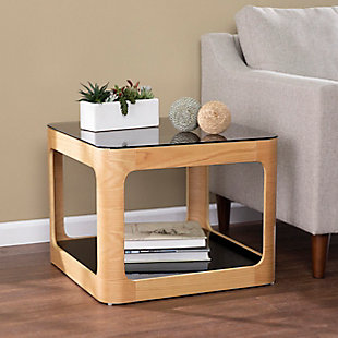 Southern Enterprises Chaleya Two-Tier End Table, , rollover