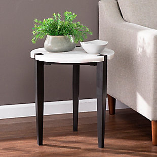 Southern Enterprises Jax Round End Table, , rollover