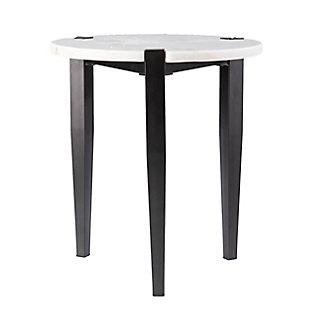 Southern Enterprises Jax Round End Table, , large