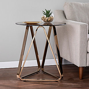 Southern Enterprises Greene Round End Table, , rollover