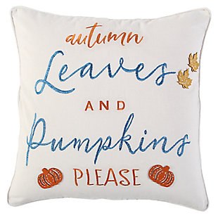 Rizzy Home  Fall Sentiment Pillow, , large
