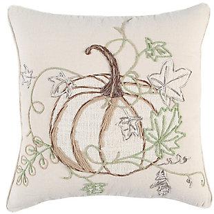 Rizzy Home  Fall Pumpkin Pillow, , large
