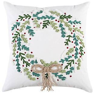 Rizzy Home  Fall Wreath Pillow, , large