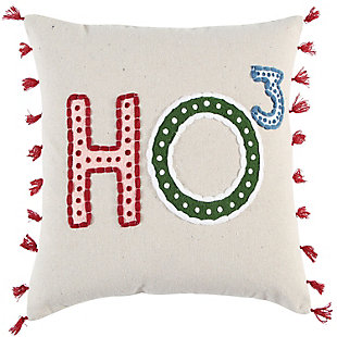 Rizzy Home  Sentiment Christmas Pillow, , rollover