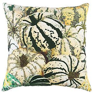 Rizzy Home  Fall Multi Pumpkin Pillow, , rollover