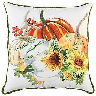 Rizzy Home  Fall Sunflower Pillow, , rollover