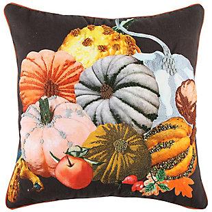 Rizzy Home  Fall Mutli Pumpkin Pillow, , rollover