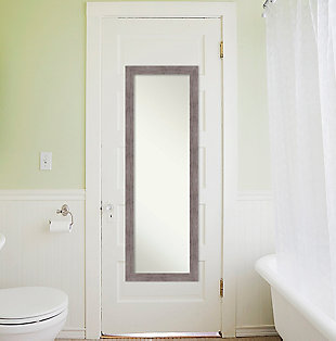 Amanti Art Narrow Full Length On the Door Mirror, , rollover
