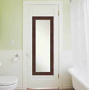 Amanti Art Full Length On the Door Mirror, , rollover