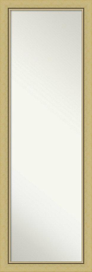 Amanti Art Narrow Full Length On the Door Mirror, , large