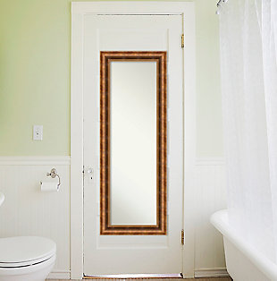 Amanti Art Wood Framed Full Length On the Door Mirror, , rollover