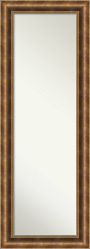Amanti Art Wood Framed Full Length On the Door Mirror, , large