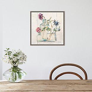 Amanti Art Blossoms on Birch II Framed Canvas Art, , rollover