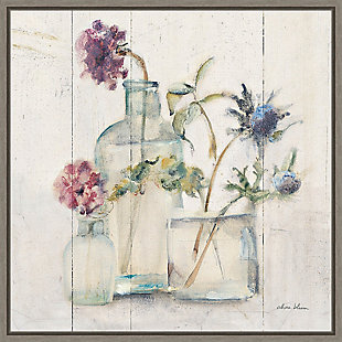 Amanti Art Blossoms on Birch II Framed Canvas Art, , large