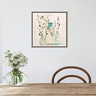 Amanti Art Blossoms on Birch V Framed Canvas Art, , rollover