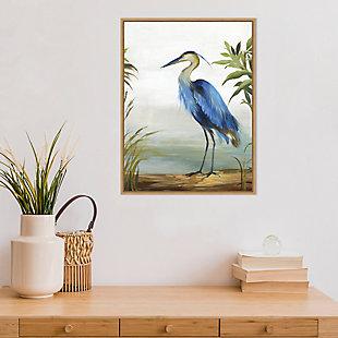 Amanti Art Blue Heron Framed Canvas Art, , rollover