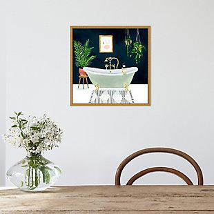 Amanti Art Boho Bath I Framed Canvas Art, , rollover