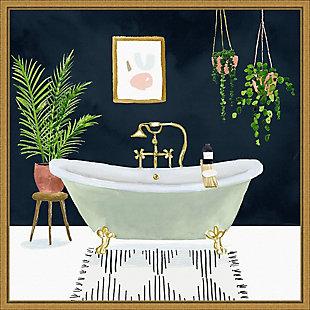 Amanti Art Boho Bath I Framed Canvas Art, , large