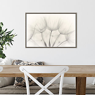 Amanti Art Floral Wisps Framed Canvas Art, , rollover