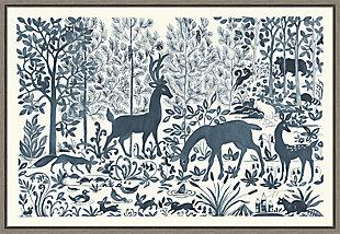 Amanti Art Forest Life I Framed Canvas Art, , large