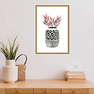 Amanti Art Geometric Vases II Framed Canvas Art, , rollover