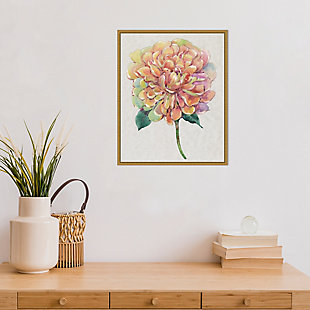Amanti Art Multicolor Floral Peony I Framed Canvas Art, , rollover