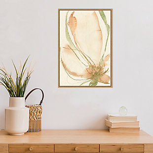 Amanti Art Petal Sketches I Framed Canvas Art, , rollover