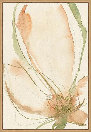 Amanti Art Petal Sketches I Framed Canvas Art, , large