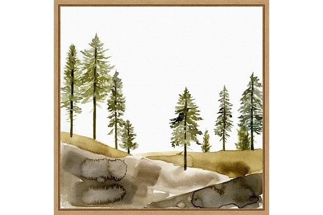 Amanti Art Pine Hill I Framed Canvas Art, , large