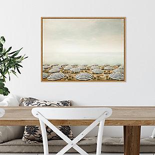 Amanti Art Seaside 4 (Beach) Framed Canvas Art, , rollover