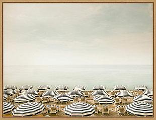 Amanti Art Seaside 4 (Beach) Framed Canvas Art, , large