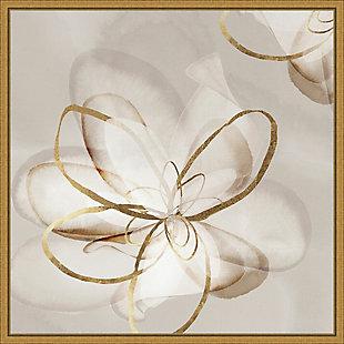 Amanti Art Transparent Beauty II (Floral) Framed Canvas Art, , large